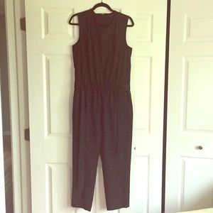 J.Crew Sleeveless Jumpsuit in Super 120's Wool